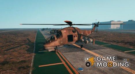 """Ka-52 \""""Alligator\"""" 0.2 для GTA 5"""