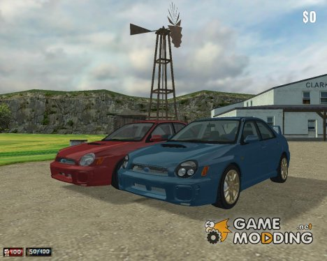 Subaru Impreza WRX '00 for Mafia: The City of Lost Heaven