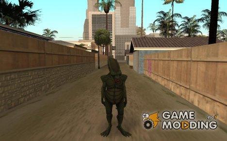 Пришелец из GTA 5 for GTA San Andreas