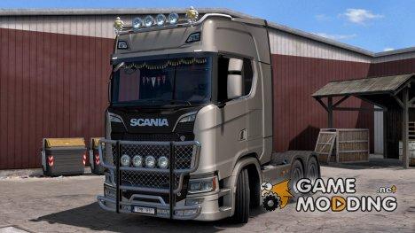 Scania S - R New Tuning Accessories (SCS) для Euro Truck Simulator 2