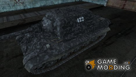 Шкурка для JagdTiger от alluminat для World of Tanks