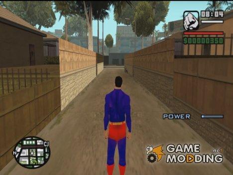 Superman для GTA San Andreas