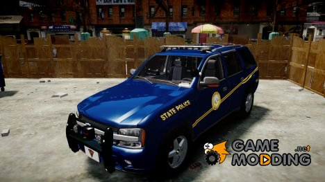 Chevrolet Trailblazer Virginia State Police [ELS] для GTA 4