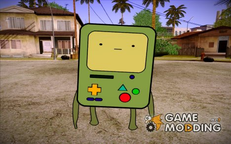 BMO (Adventure Time) v1.0 for GTA San Andreas