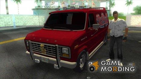 Ford E-150 Gang Burrito for GTA Vice City