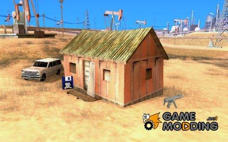 Дом в пустыне for GTA San Andreas