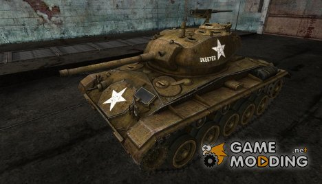 Шкурка для M24 Chaffee for World of Tanks