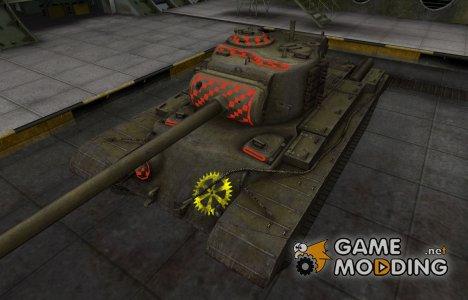 Контурные зоны пробития T32 for World of Tanks