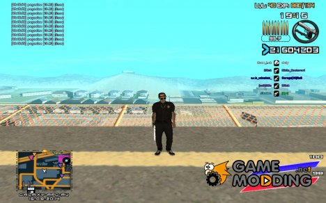 C-HUD by Radion edited SampHack для GTA San Andreas