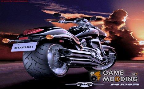 Загрузочные экраны и меню в стиле мотоциклов for GTA San Andreas