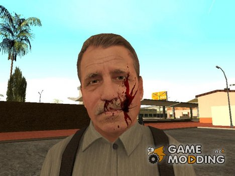 Dead Tommy Angelo from Mafia II для GTA San Andreas