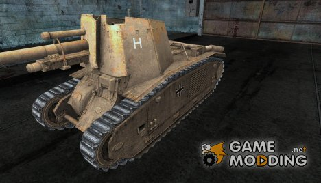 Шкурка для 105 leFH18B2 for World of Tanks