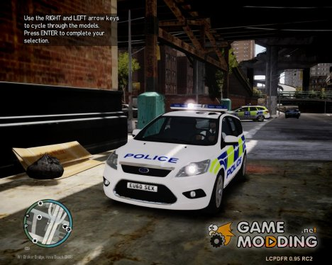 Ford Focus Estate '09 police UK. для GTA 4