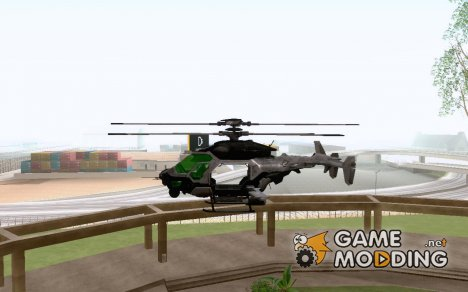 Сrysis 2 AH-50 C.E.L.L. Helicopter for GTA San Andreas