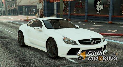 Mercedes AMG SL 65 Black Series v1.2 for GTA 5