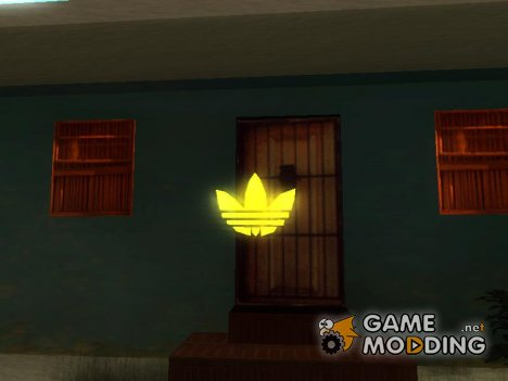Эмблема Adidas for GTA San Andreas