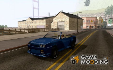 Opel Manta Gt/E Cabrio for GTA San Andreas