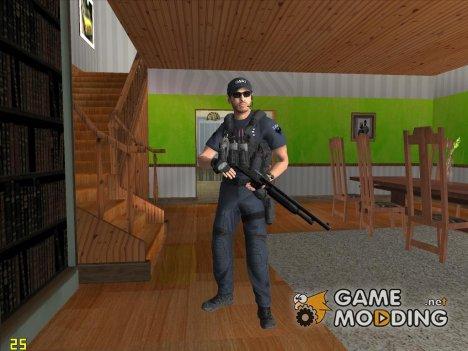 Коп из Battlefield Hardline for GTA San Andreas