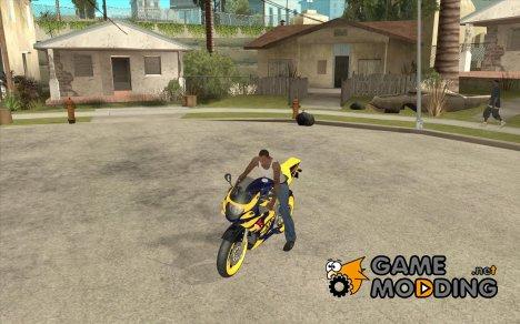 Мотоцикл из Alien City for GTA San Andreas