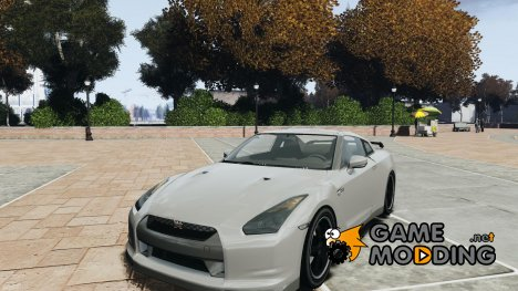 Nissan GTR R35 SpecV v1.0 для GTA 4