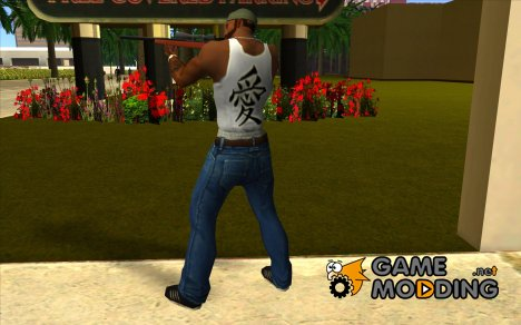 Новая майка для CJ for GTA San Andreas