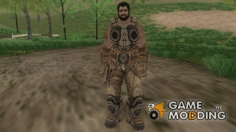 Dom From Gears of War 3 for GTA San Andreas