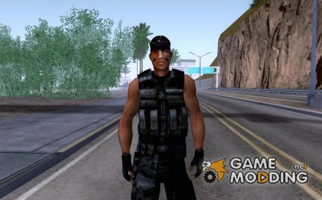 RAMBO for GTA San Andreas