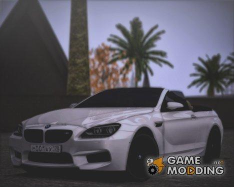 BMW M6 F13 Cabrio для GTA San Andreas