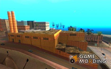 Новые текстуры завода в Лос Сантосе for GTA San Andreas