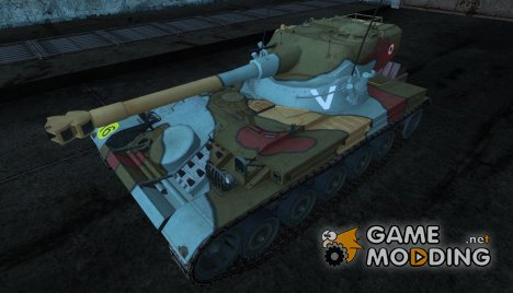 Шкурка для AMX 13 75 №12 for World of Tanks