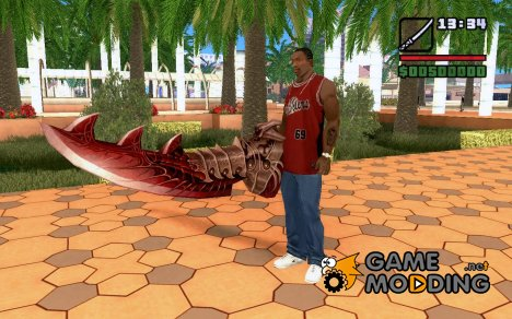 Sword of Halisha для GTA San Andreas