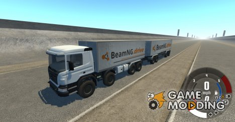 Scania 8x8 Heavy Utility Truck for BeamNG.Drive