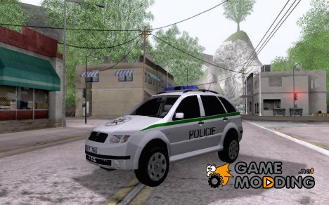 Skoda Fabia Combi Policie CZ for GTA San Andreas