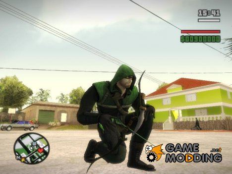 Green Arrow Bow From Injustice Gods Among Us V1 for GTA San Andreas