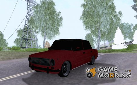 Tofas 124 Red Devil для GTA San Andreas