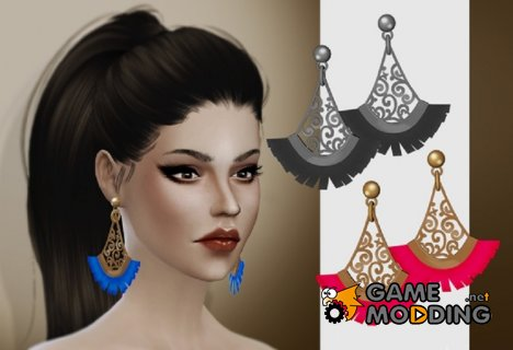 Серьги Raylight for Sims 4