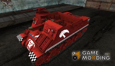 M7 Priest от omgbanga for World of Tanks