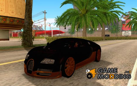 Bugatti Veyron SuperSport для GTA San Andreas