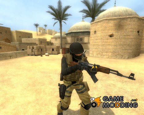 MGS4 PMC urban v2 for Counter-Strike Source