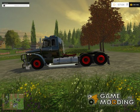 Scania 111 for Farming Simulator 2015