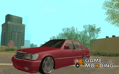 Mercedes-Benz S600 AMG for GTA San Andreas