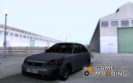 Lada Priora 2172 сток for GTA San Andreas