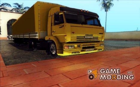 КамАЗ 5460 из дальнобойщиков 2 Final for GTA San Andreas