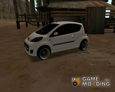 Peugeot 107 EuroLook for GTA San Andreas
