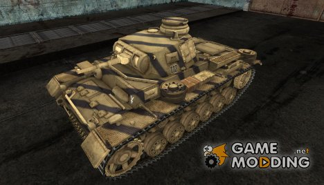 PzKpfw III Gesar для World of Tanks