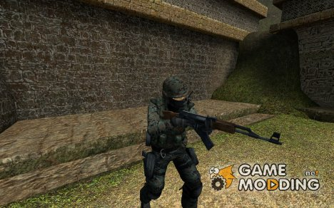 Woodland Camouflage Seal Team 6 v1 для Counter-Strike Source