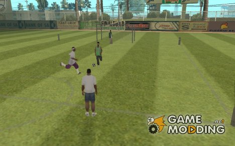 GTA Soccer Team Play для GTA San Andreas