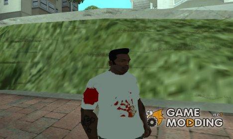Футболка в стиле Джейсона Вурхиза for GTA San Andreas