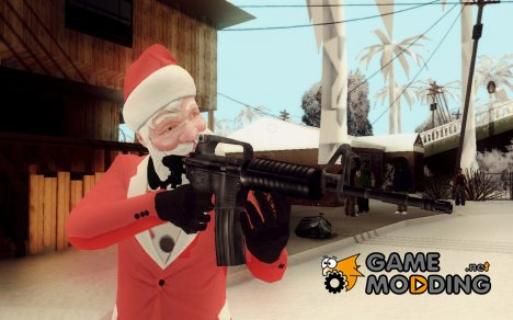 Santa Claus для GTA San Andreas