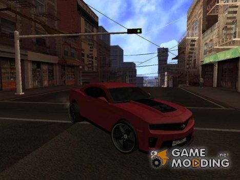 Chevrolet Camaro ZL1 2011 for GTA San Andreas